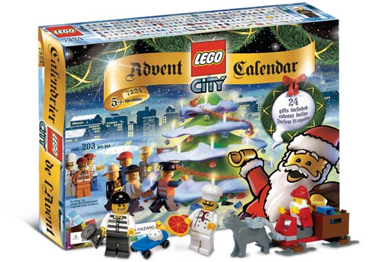 LEGO Town Sets: LEGO City 7324 Advent Calendar 2005 NEW