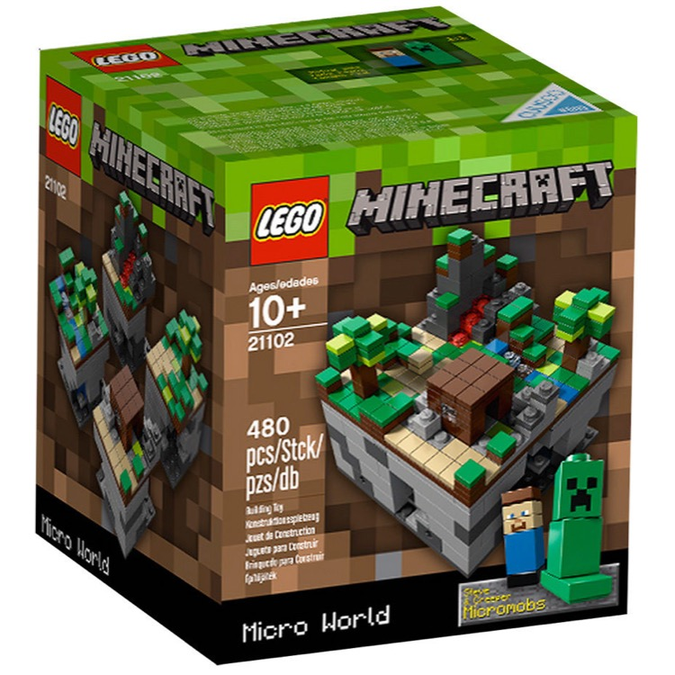 LEGO Minecraft Sets: 21102 Minecraft Micro World: The Forest NEW  *Damaged Box*