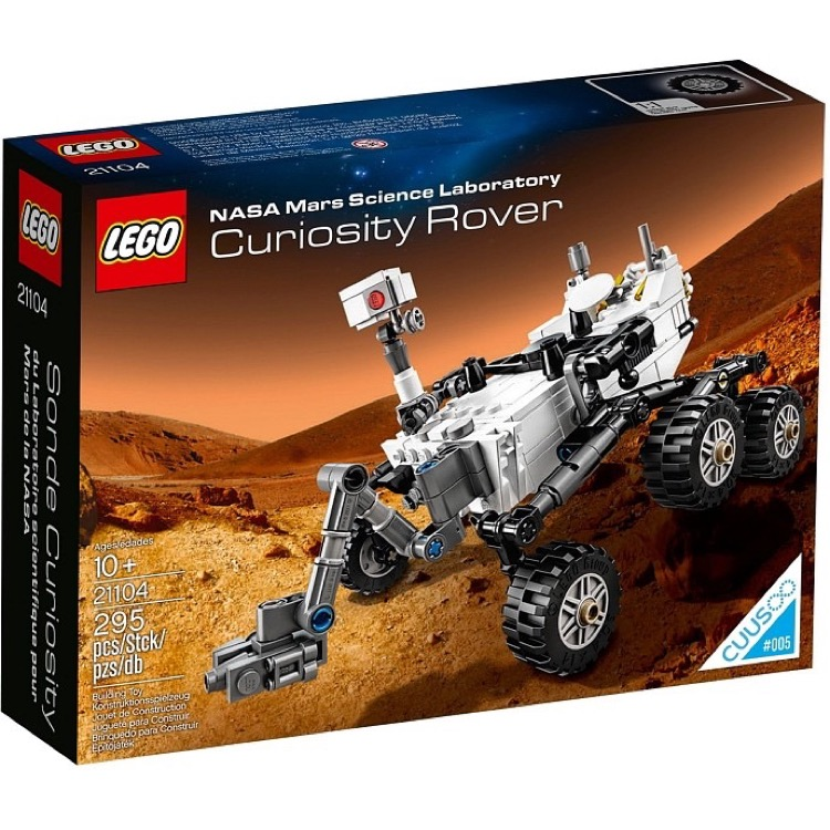 LEGO Ideas (formerly Cuusoo) Sets: 21104 NASA Mars Science Laboratory Curiosity Rover NEW