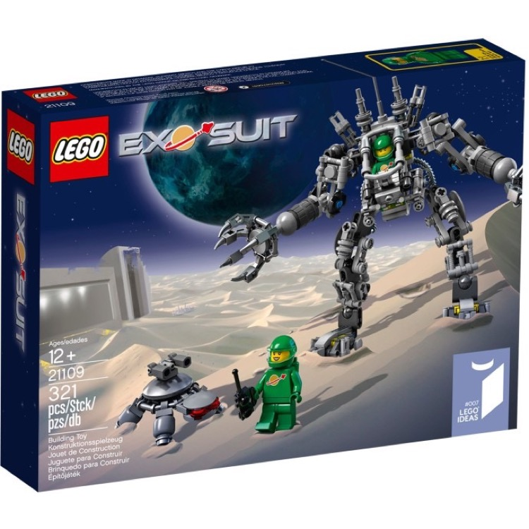 LEGO Ideas Sets: 21109 Exo-Suit NEW