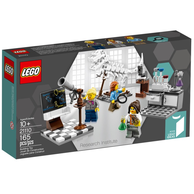 LEGO Ideas Sets: 21110 Research Institute NEW