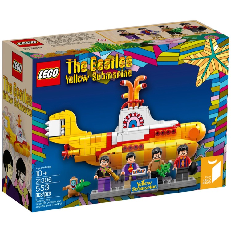 LEGO Ideas Sets: 21306 The Beatles Yellow Submarine NEW
