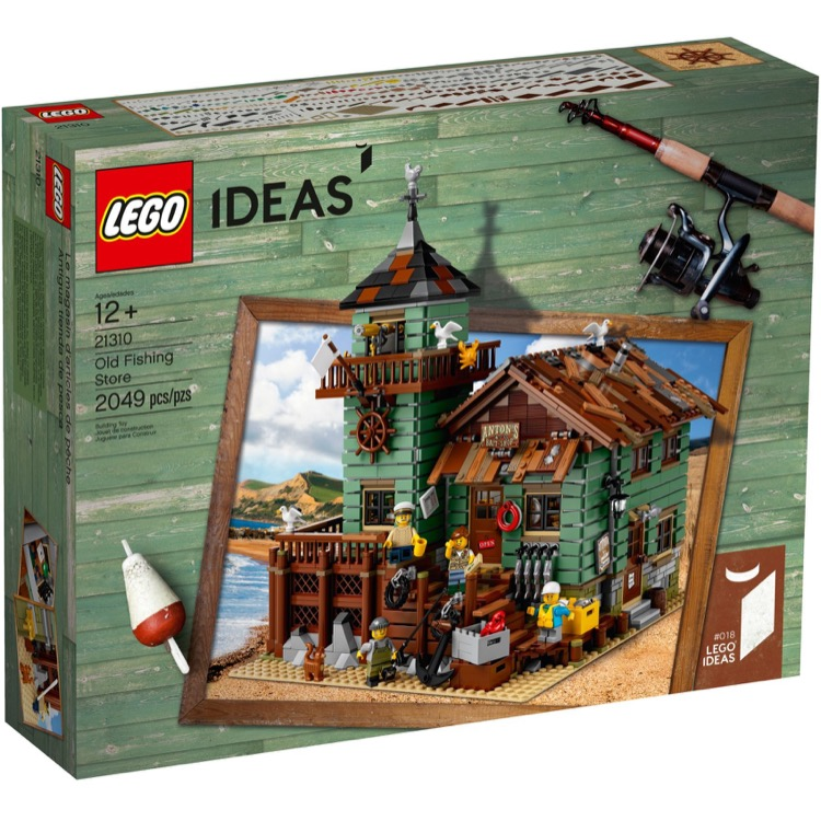 LEGO Ideas Sets: 21310 Old Fishing Store NEW