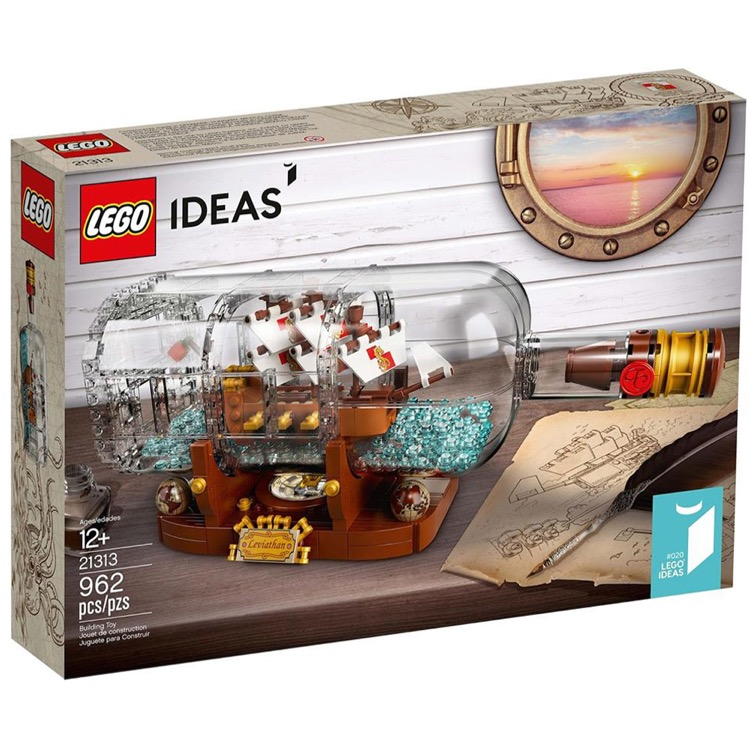 LEGO Ideas Sets: 21313 Ship in a Bottle NEW