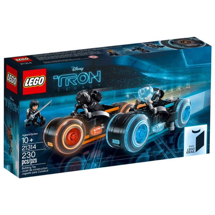 LEGO Ideas Sets: 21314 TRON: Legacy NEW