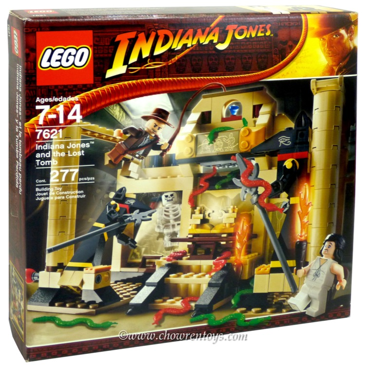 LEGO Indiana Jones Sets: 7621 Indiana Jones and the Lost Tomb NEW