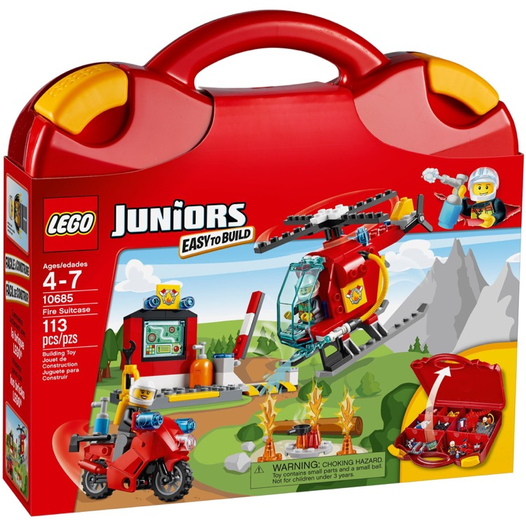 LEGO Juniors Sets: 10685 Fire Suitcase NEW