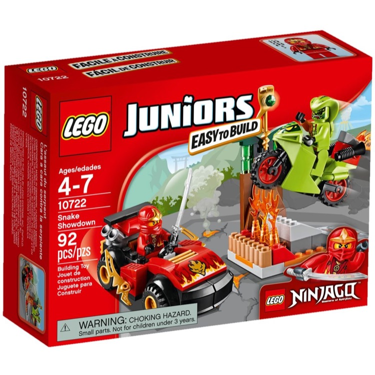 LEGO Juniors Sets: 10722 Snake Showdown NEW