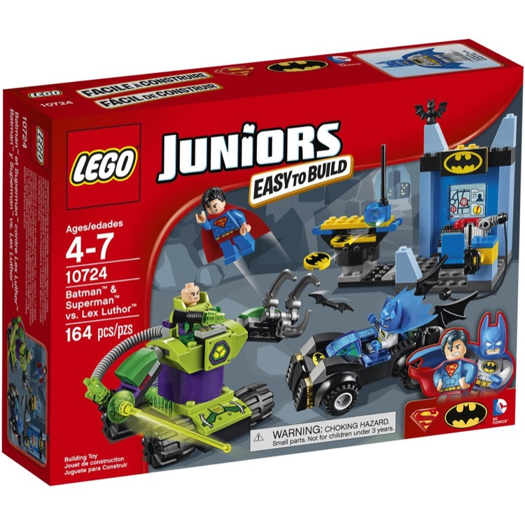 LEGO Juniors Sets: 10724 Batman and Superman vs. Lex Luthor NEW