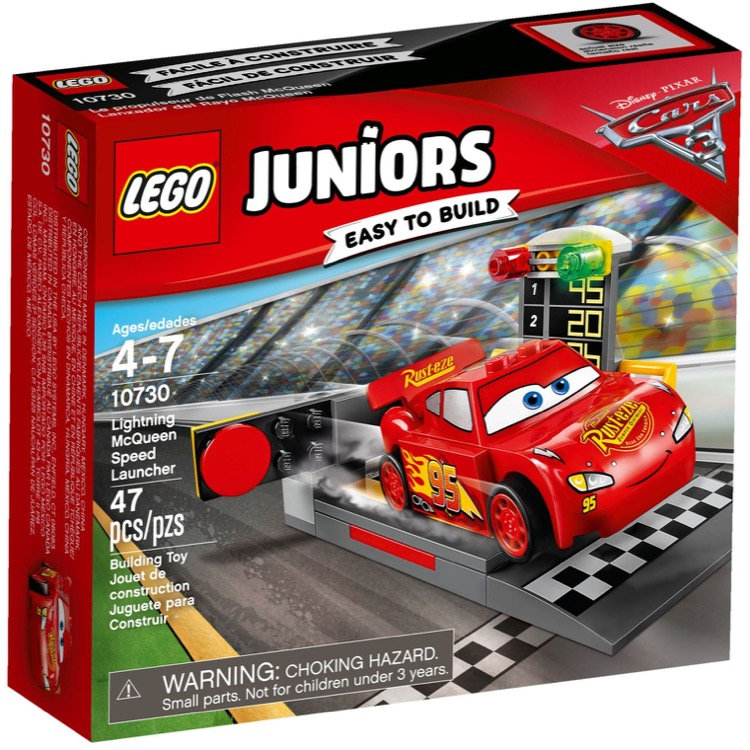 LEGO Juniors Sets: 10730 Lightning McQueen Speed Launcher NEW