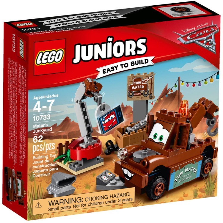 LEGO Juniors Sets: 10733 Mater's Junkyard NEW