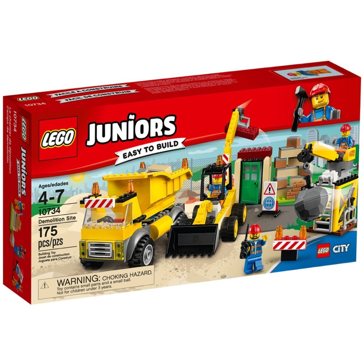 LEGO Juniors Sets: 10734 Demolition Site NEW