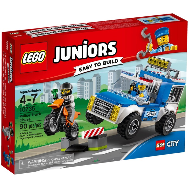 LEGO Juniors Sets: 10735 Police Truck Chase NEW