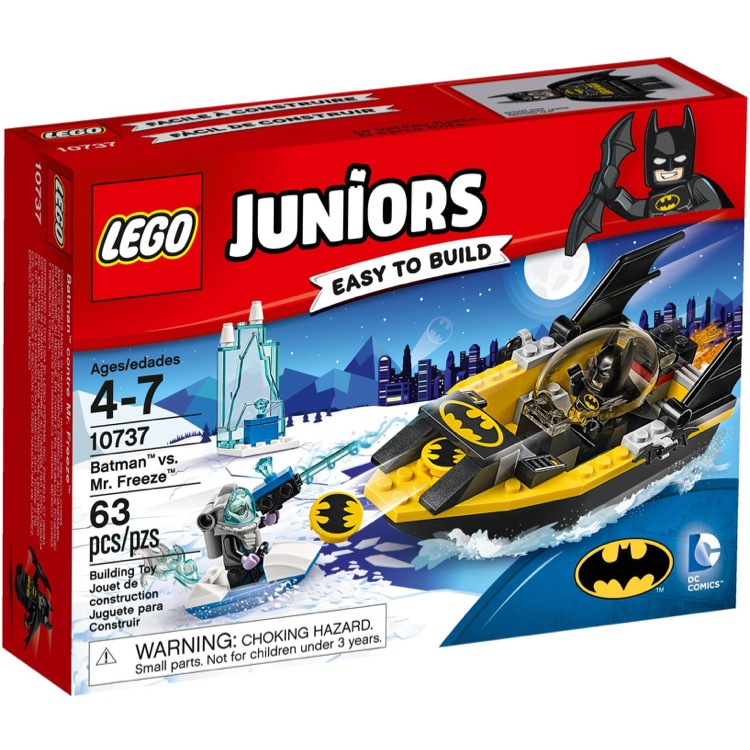 LEGO Juniors Sets: 10737 Batman vs. Mr. Freeze NEW