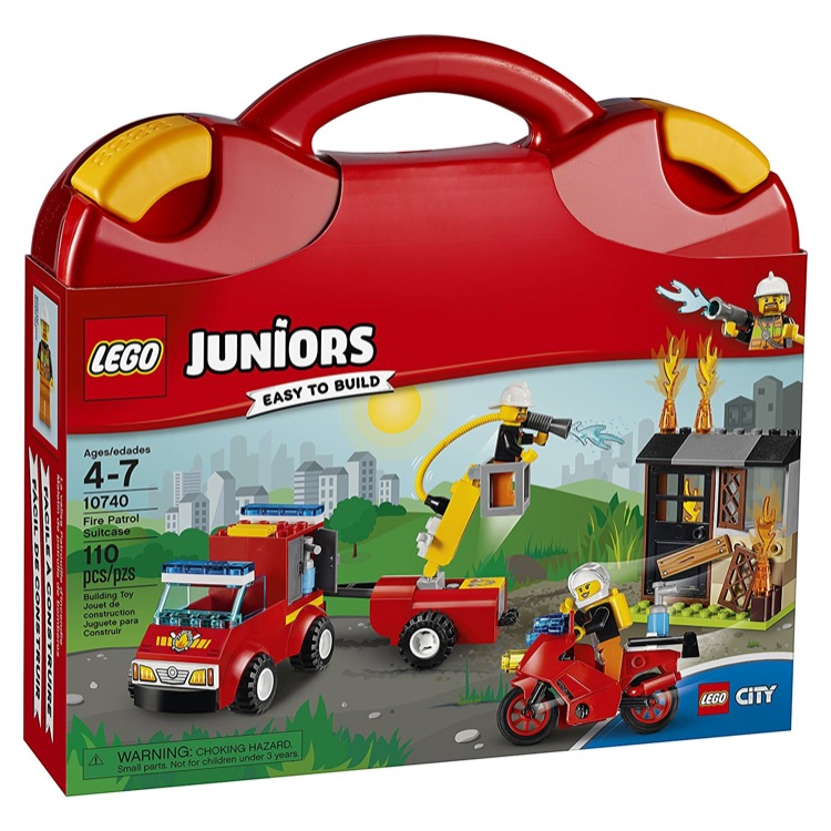 LEGO Juniors Sets: 10740 Fire Patrol Suitcase NEW