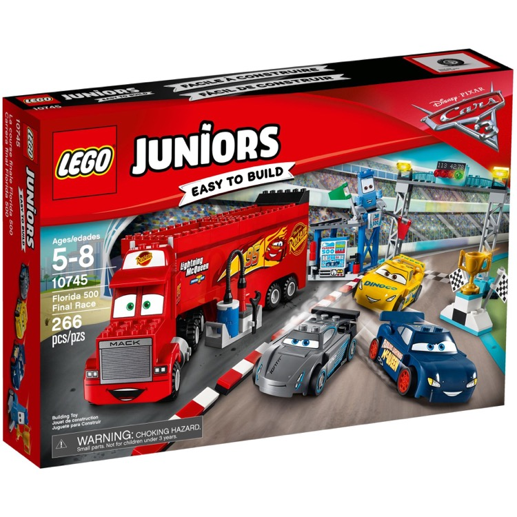 LEGO Juniors Sets: 10745 Florida 500 Final Race NEW