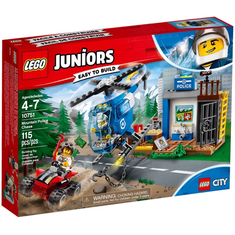 LEGO Juniors Sets: 10751 Mountain Police Chase NEW