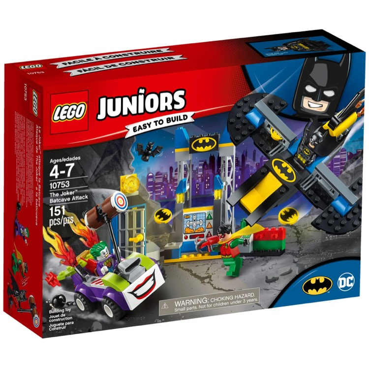 LEGO Juniors Sets: 10753 The Joker Batcave Attack NEW  *Damaged Box*