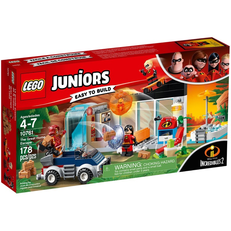 LEGO Juniors Sets: 10761 The Great Home Escape NEW