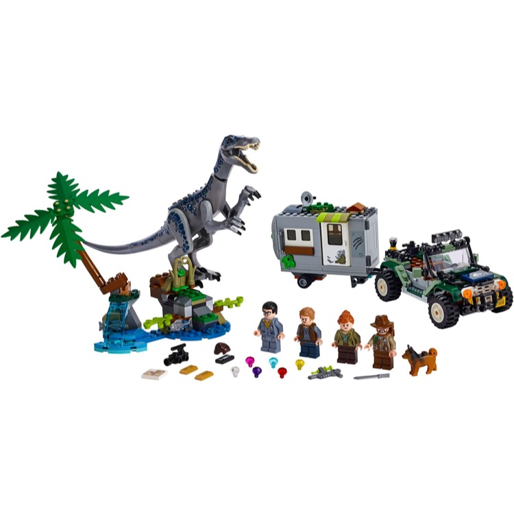 Lego Baryonyx   factory packaging Jurassic set 75935