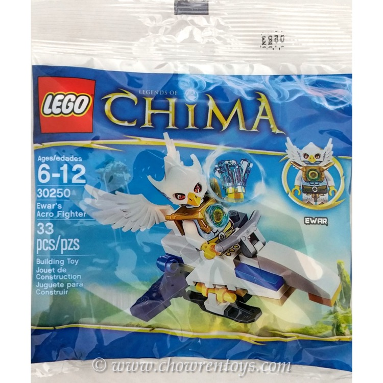 LEGO Legends of Chima Sets: 30250 Ewar's Acro Fighter NEW