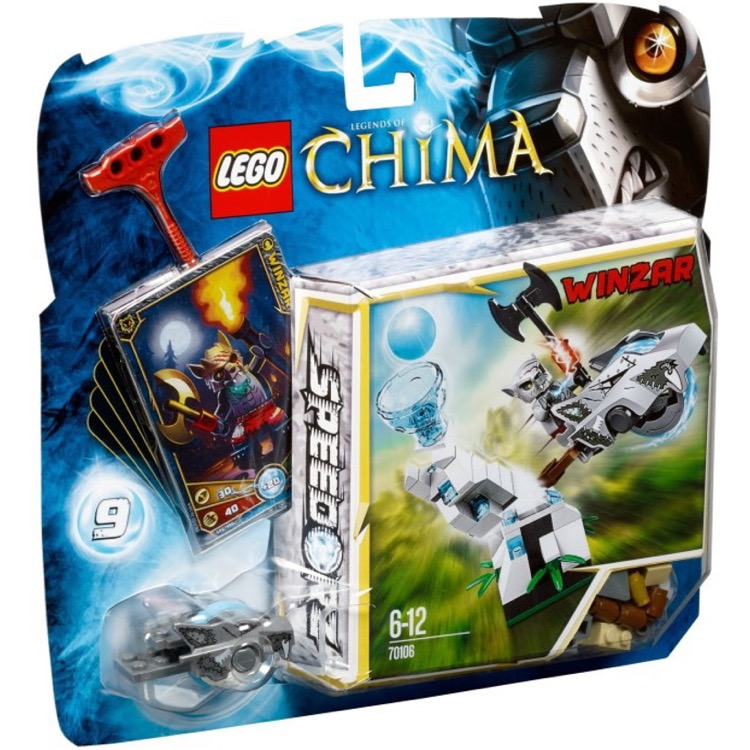 LEGO Legends of Chima Sets: 70106 Ice Tower NEW