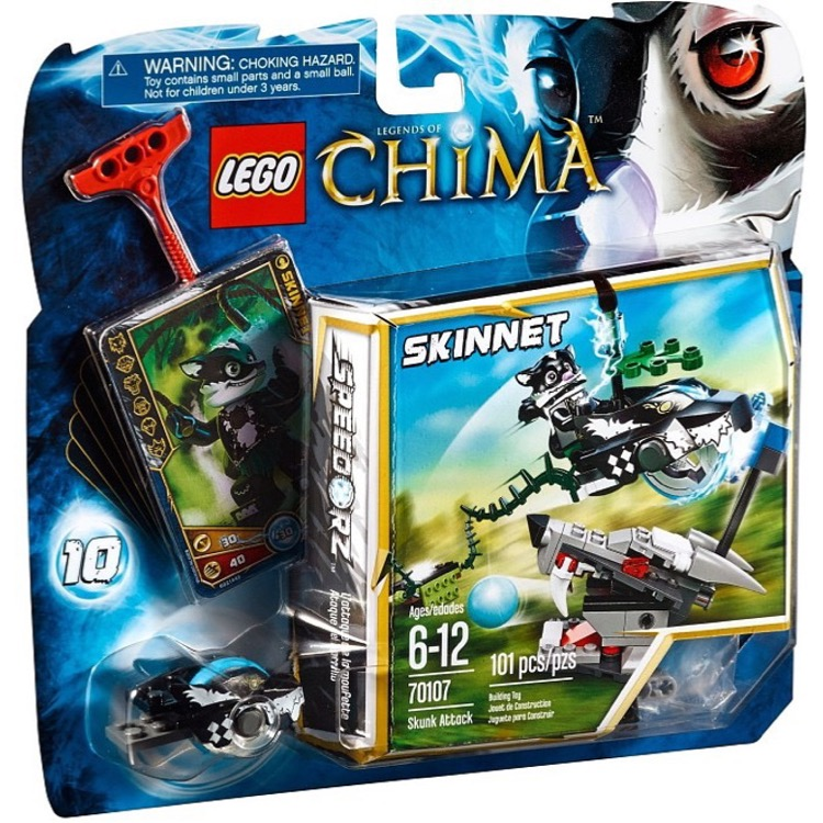LEGO Legends of Chima Sets: 70107 Skunk Attack NEW
