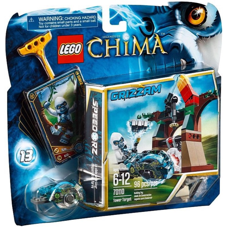 LEGO Legends of Chima Sets: 70110 Tower Target NEW