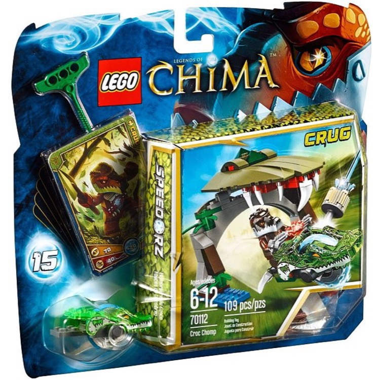 LEGO Legends of Chima Sets: 70112 Croc Chomp NEW