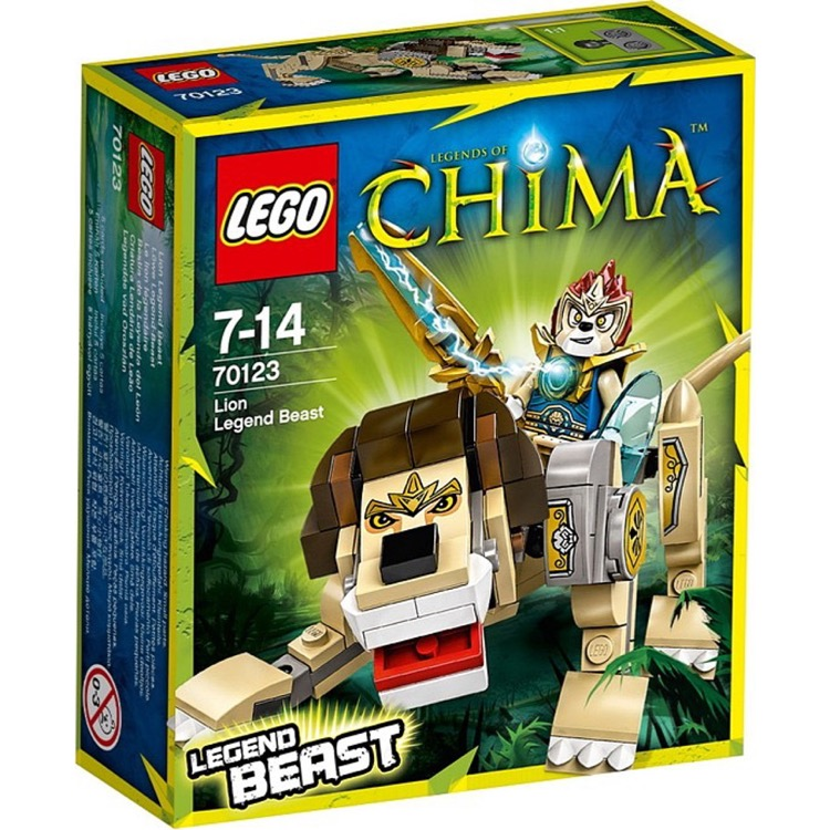 LEGO Legends of Chima Sets: 70123 Lion Legend Beast NEW