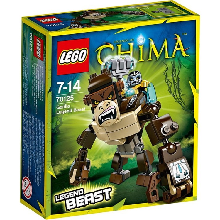 LEGO Legends of Chima Sets: 70125 Gorilla Legend Beast NEW