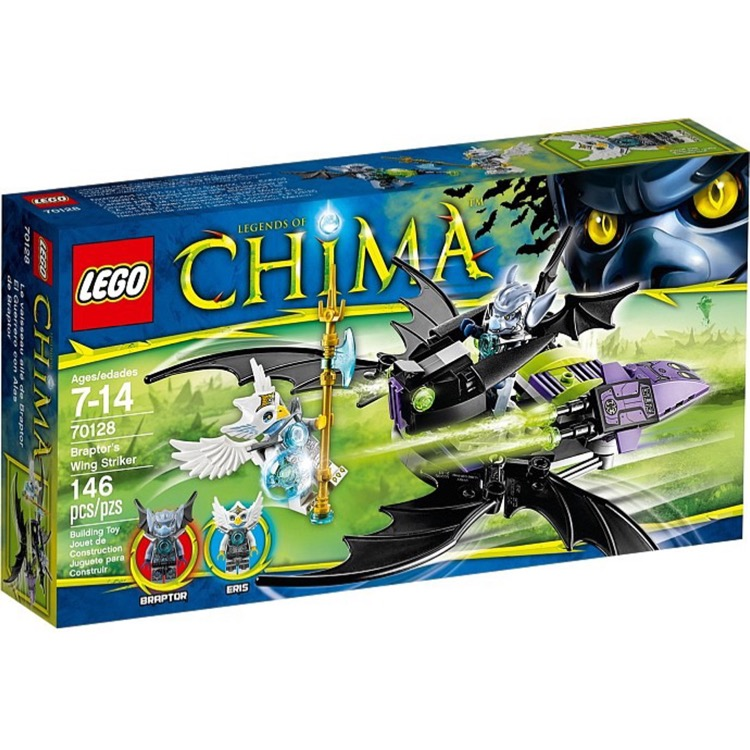 LEGO Legends of Chima Sets: 70128 Braptor's Wing Striker NEW