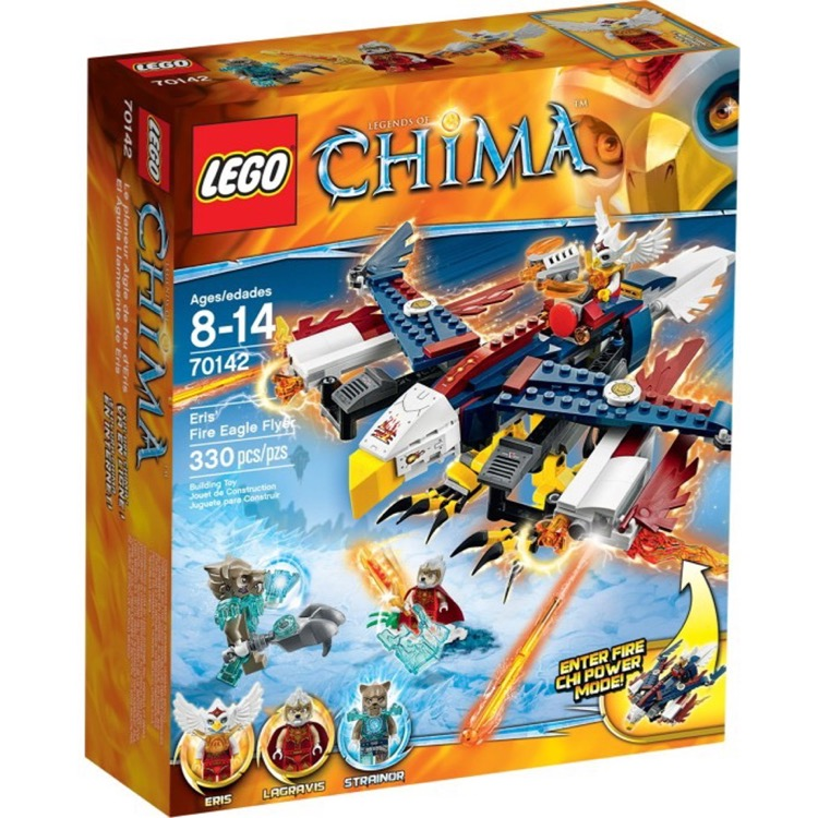 LEGO Legends of Chima Sets: 70142 Eris Fire Eagle Flyer NEW