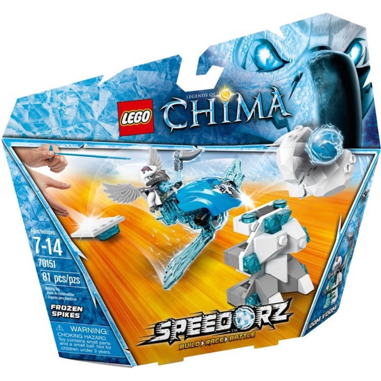 LEGO Chima Sets: Speedorz 70151 Frozen Spikes NEW