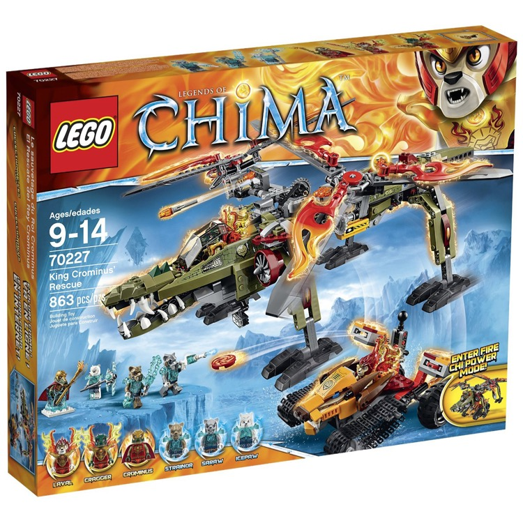 LEGO Legends of Chima Sets: 70227 King Crominus' Rescue NEW