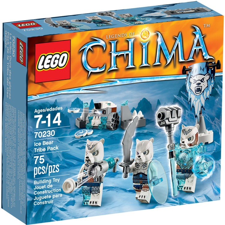 LEGO Legends of Chima Sets: 70230 Ice Bear Tribe Pack NEW