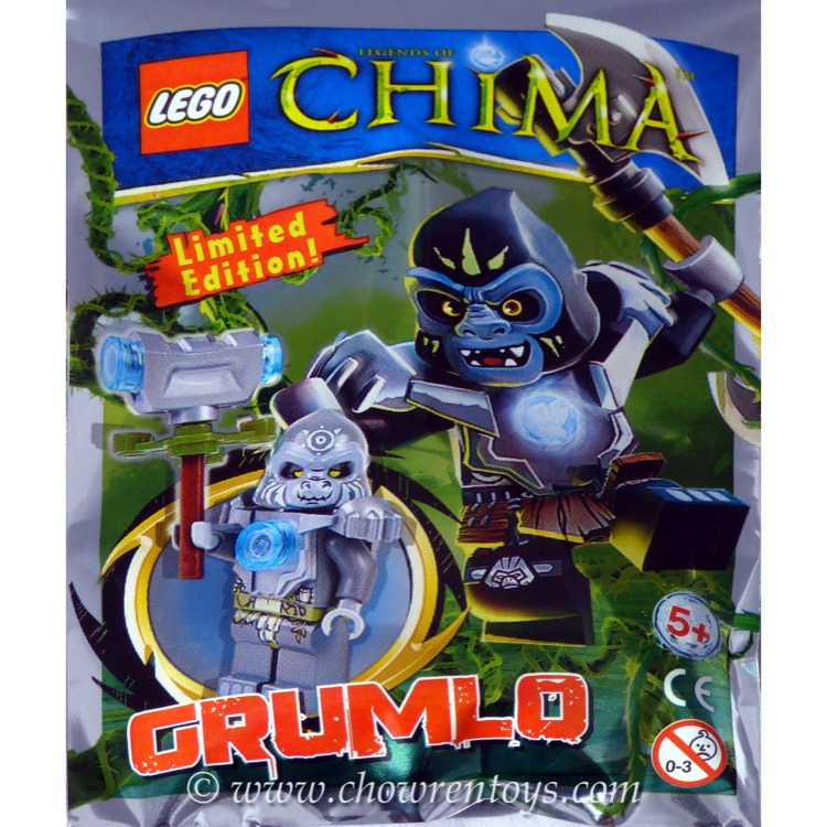 LEGO Legends of Chima Sets: LOC114 Grumlo Minifigure NEW