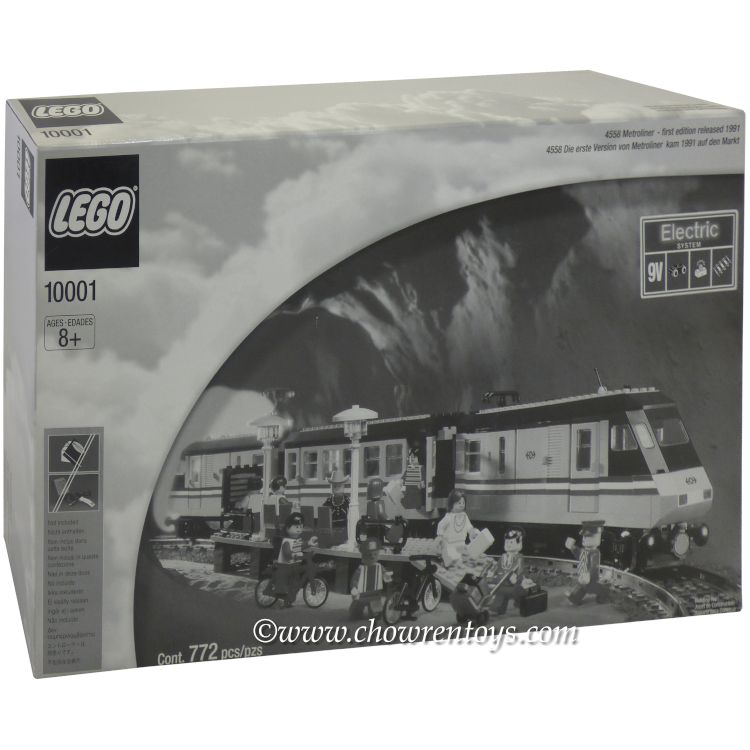 LEGO Legends Sets: 10001 Metroliner NEW