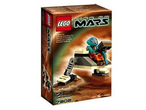 LEGO Life on Mars Sets: 7302 Worker Robot NEW