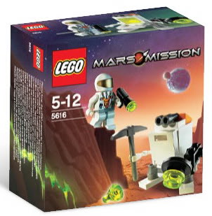 LEGO Mars Mission Sets: 5616 Mini-Robot NEW