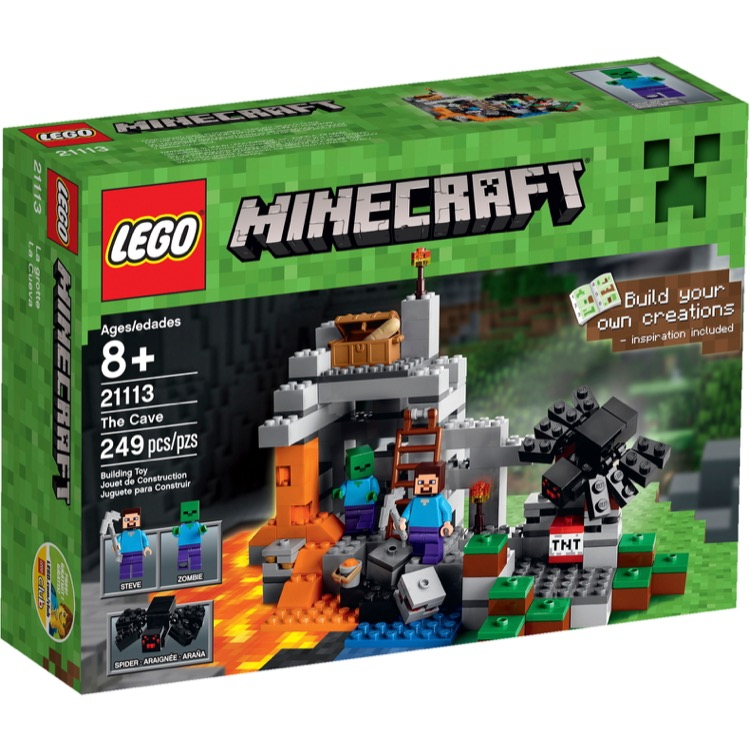 LEGO Minecraft Sets: 21113 The Cave NEW