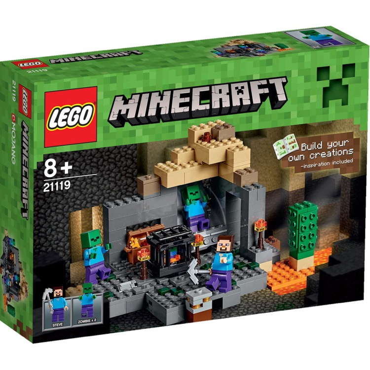 LEGO Minecraft Sets: 21119 The Dungeon NEW