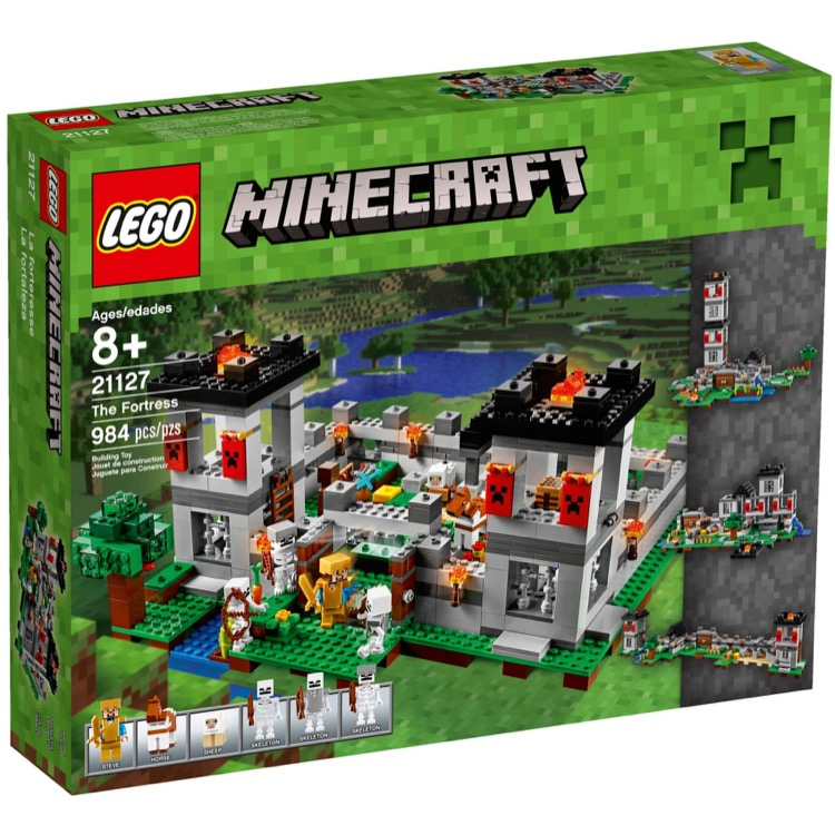 LEGO Minecraft Sets: 21127 The Fortress NEW