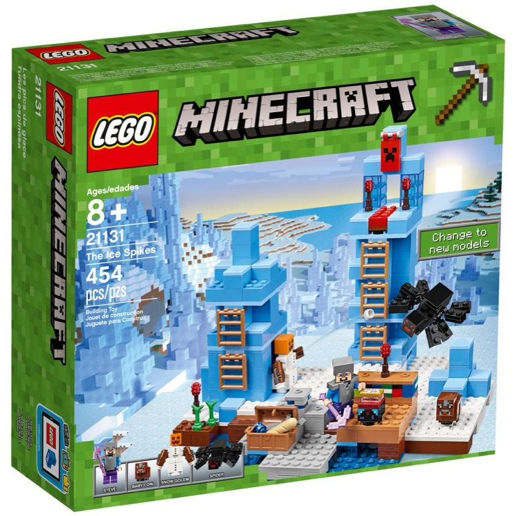 LEGO Minecraft Sets: 21131 The Ice Spikes NEW
