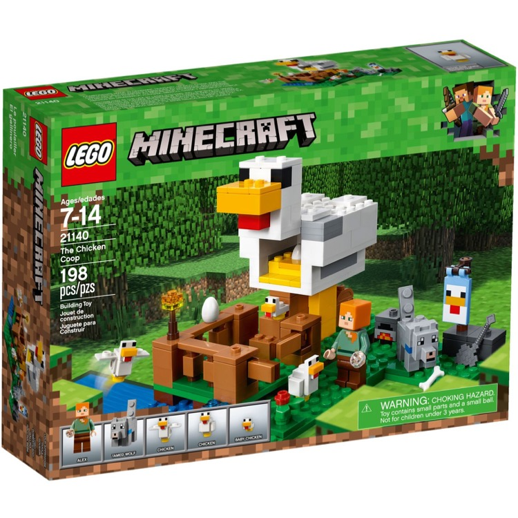 LEGO Minecraft Sets: 21140 The Chicken Coop NEW