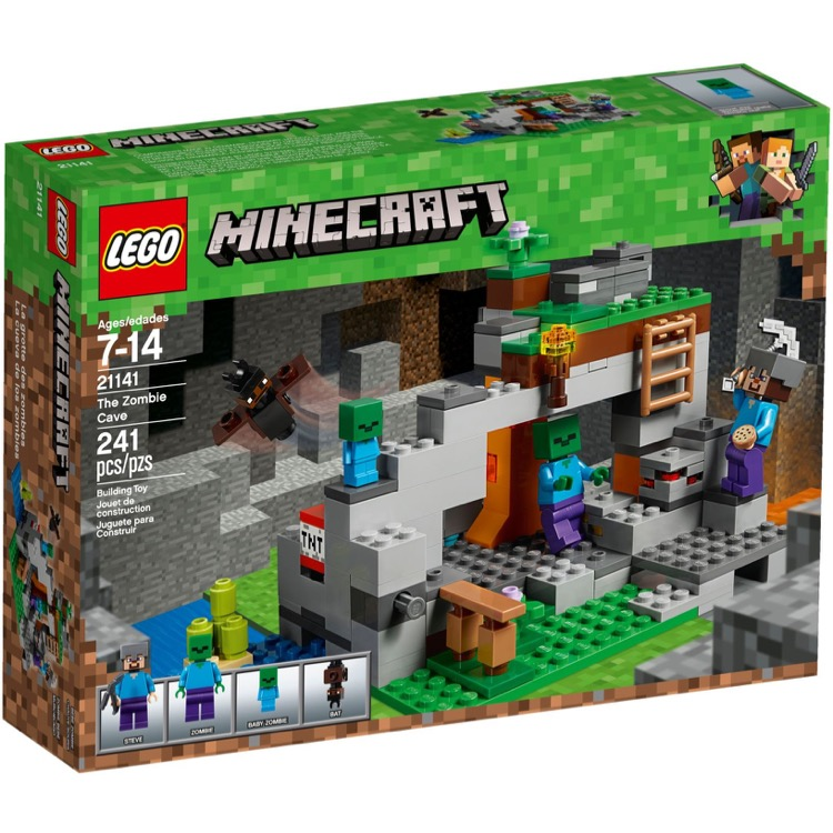 LEGO Minecraft Sets: 21141 The Zombie Cave NEW