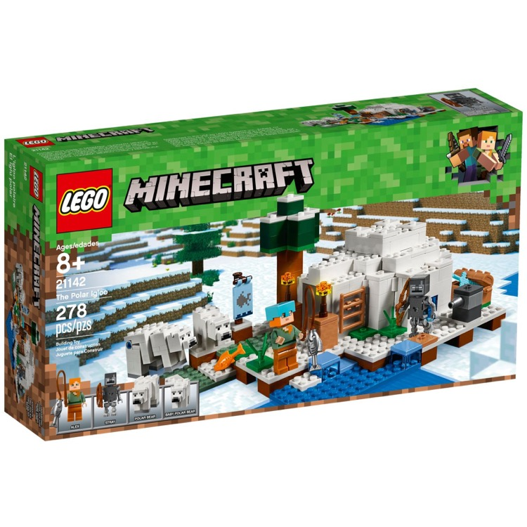 LEGO Minecraft Sets: 21142 The Polar Igloo NEW