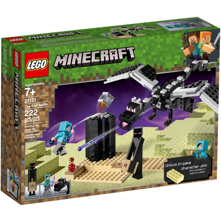 LEGO Minecraft Sets: 21151 The End Battle NEW