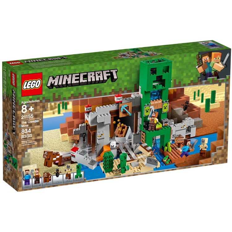 LEGO Minecraft Sets: 21155 The Creeper Mine NEW