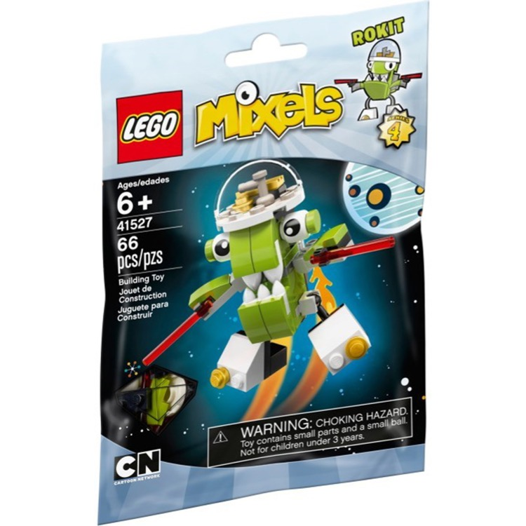 LEGO Mixels Sets: 41527 Series 4 Rokit NEW